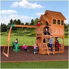 backyards bright backyard discovery playsets liberty ii wooden