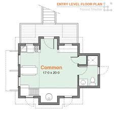 cottage style house plan 2 beds 100 baths 544 sqft plan 5145