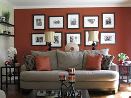 best paint colours to complement a red or charcoal brick fireplace