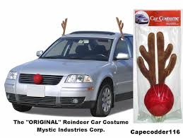 reindeer antlers for car rudolph reindeer antlers nose car costume all vehicles free