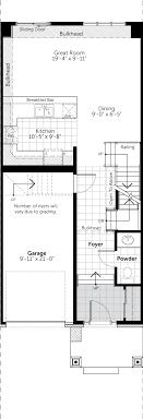 azure floor plan azure townhome floor plans claridge homes