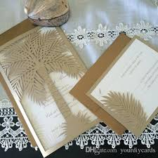 palm tree wedding invitations newest 2016 newmengxing wedding invitation custom laser cut