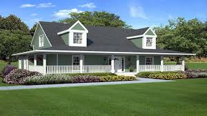 baby nursery ranch style house with wrap around porch house