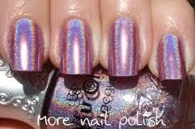 nfu oh 64 mauve holo comparison more nail polish
