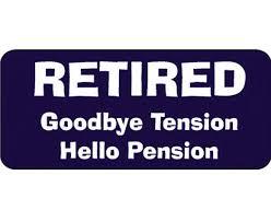goodbye tension hello pension slogan t shirt goodbye tension hello pension original gift company