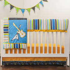Crib Bedding Sets pam grace creations rock star 10 piece crib bedding set walmart com