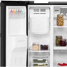 daewoo frax22np3s american fridge freezer silver