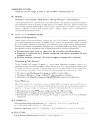 Sample Resume Objectives Business by Resume Objective For Career Change Free Resume Example And