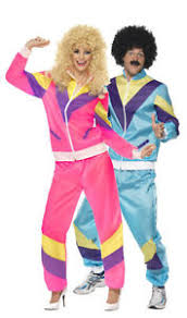 Halloween Disco Costumes Halloween Tracksuit Scouser Shell 80 U0027s Lovers Suit Retro Dance