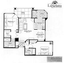 Condominium Plans Sun City Grand La Solana Condo Grande Condominium Floor Plan Model