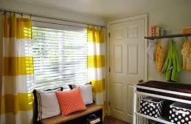 Baby Nursery Curtains Window Treatments - yellow and white curtains for nursery drapes u2014 nursery ideas