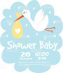 Baby Shower Invitations Card Baby Shower Invitation Vector Card Stock Vector Art 611632386 Istock