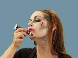 smeared halloween makeup images