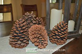 decor you adore decorating with pine cones and other natural