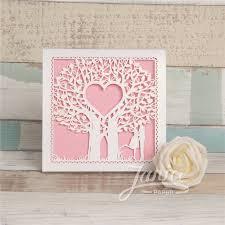 Fairytale Wedding Invitations Fairytale Laser Cut Tree Wedding Invitation Card Wzl0014 Wzl0014