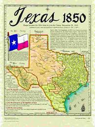 Texas Map Picture Historical Texas Maps Texana Series