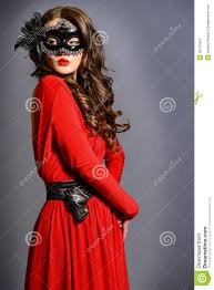 masquerade dresses and masks masquerade look stock images image 36123464