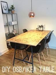 bureau en osb dessus table en osb tréteau ikea osb tréteaux ikea