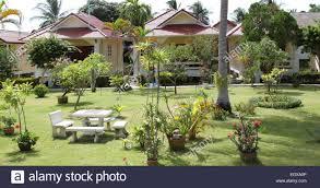 bungalow of the island of koh samui thailand southeast asia