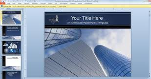 free animated business powerpoint templates 3d and animated