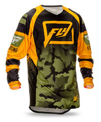 fly racing motocross fly racing 2016 evolution code orange green camo jersey mxstore
