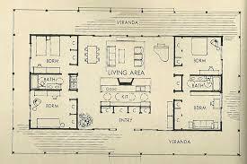 open modern floor plans pleasurable ideas 15 mid century modern home floor plans superb 10