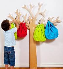 tree coat racks adding creative kids designs to interior