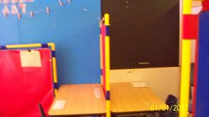 Individual Student Desks Ricks Pre K Autism Class January 2014