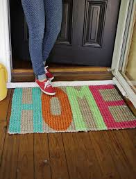 Welcome Home Decor 6 Diy Welcome Mats To Give Your Porch Some Pep The Accent