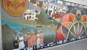 sustainability action agenda african american cultural and image of the mural at the african american cultural center