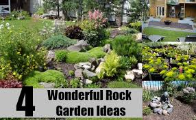 Rock Garden Ideas 4 Wonderful Rock Garden Ideas For Your Home How To Design A Rock