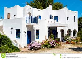 greek island home plans home plan