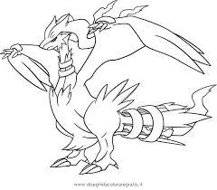 pokemon coloring pages white kyurem legendary pokemon coloring pages 18117