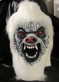 Yeti Halloween Costume Show Halloween Masks 27