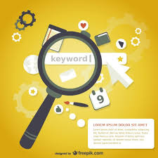 free profile finder magnifying glass keyword search vector free