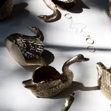 art deco svan ring holder images Catbird swan ring holder pinterest swans ring and solid brass jpg