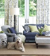 Cream Velvet Sofa Mesmerizing Blue And Cream Living Room Curtains U2013 Muarju