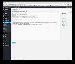 wordpress theme editor gone safety first wordpress 4 9 s code editor enhancements elegant