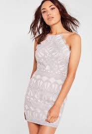 bodycon dresses lace strappy bodycon dress grey missguided