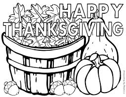 happy thanksgiving coloring page coloring home