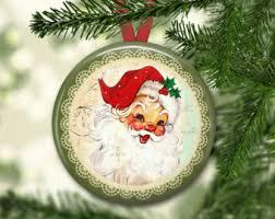 fashioned santa etsy