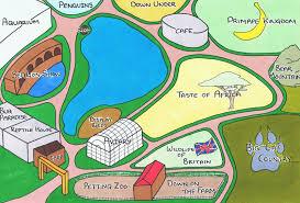 Zoo Map Life U0027s A Zoo Zoo Map