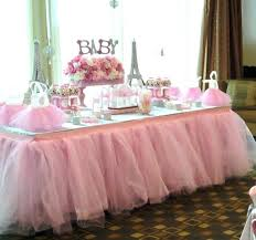 tutu centerpieces for baby shower tutu baby shower sweet display from a pink tutu themed