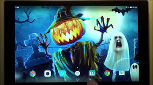 halloween wallpaper for android phones halloween live wallpaper for android phones and tablets youtube
