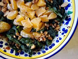 clementine cuisine kale clementine almond salad