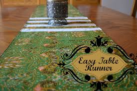 easy table runners patterns table runners