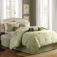 amazon com madison park freeport comforter set queen green