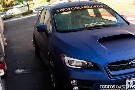 2015 Subaru Sti Wrap Robros Customs