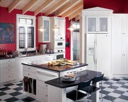 kitchen awesome red kitchen cabinets new red kitchen cabinets