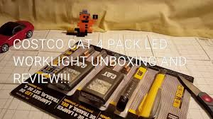 cat rechargeable led work light costco costco cat led weather proof 4 pack 10 unboxing review